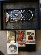 MSI Radeon RX 580 Armor 8G OC Graphics Card, 8GB GDDR5, DVI-D, HDMI, DP