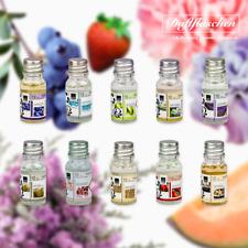10 Duftöl Set Ätherisches Öl, Raumduft für Duftlampe Diffuser als Aroma-Therapie