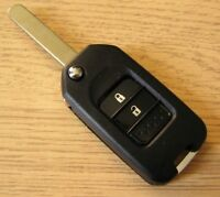 Cover Guscio Chiave Telecomando 2 Tasti Per Honda Jazz Civic Accord CR-V City