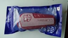 shn017) a pair of Official FC BARCELONA YOUTH SHIN PADS  - BNIP size M