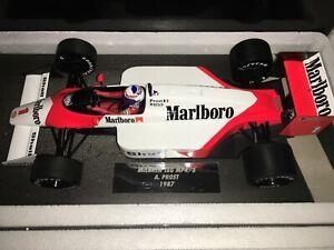 1:18 MINICHAMPS #537 871801 Alain Prost Mclaren MP4/3 1987 - Marlboro Librea