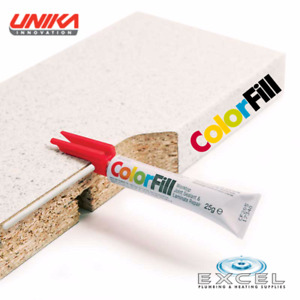 Unika Colorfill, Joint Sealant & Laminate Repair, for Joints, Chips & Scratches.