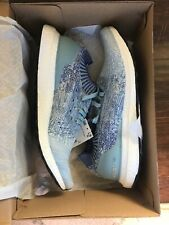 Adidas Men's Ultra Boost Uncaged Ash Grey, Blue & Red Size 10 NEW #B37693