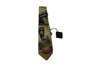 Dallas Cowboys NFL 100% Silk Neck Tie New With Tags Fast Shipping