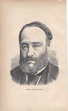 1874  Physicist James Prescott Joule Mini Bio vintage magazine article