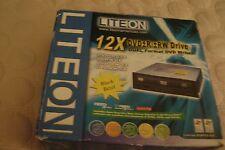 Lite On 12X DVD+/-R/+/-RW Drive DUAL Format DVD Writer
