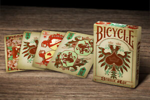 Bicycle Playing Cards Bronze Age Deck USPCC New Sealed