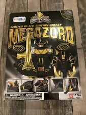 Bandai Mighty Morphin Power Rangers Megazord Limited Black Edition Legacy