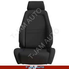 Explorer 4x4 4WD Bucket Seat Black Cloth ADR Approved Toyota Hilux