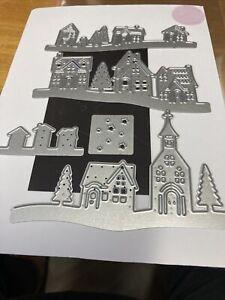 5 X Houses/ Village Die Set