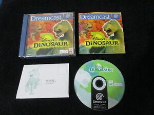 DC : DISNEY'S DINOSAUR - Completo, ITA ! Dreamcast ! Dal film Disney Dinosauri