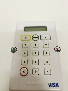 Monopoly Electronic Banking Spare Replacement Card Machine Tested & Working