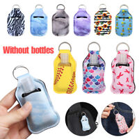 1pc Lip Balm Bag Key Ring Holder Travel Bottle Pouch Storage Bag Key Chain Decor