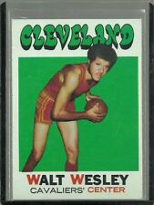 1971-72 TOPPS SET BREAK #52 WALT WESLEY CAVALIERS EX-MT FREE SHIPPING