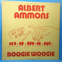 ALBERT AMMONS BOOGIE WOOGIE VINYL LP ORIGINAL PRESS GREAT CONDITION! VG++/VG+!!
