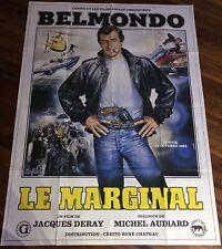 Le Marginal / Belmondo / Affiche / Poster / Cinema / Neuve /