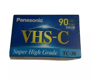 Panasonic TC-30 VHS-C Super High Grade 90 Minute Compact Video Cassette Tape