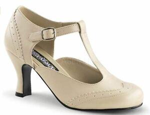 Funtasma Women's Shoe Flapper-26 Halloween shoes 1920's