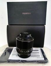 Fuji Fujifilm Fujinon XF 60 mm R f2.4. 100% NEUF + FILTRE UV.