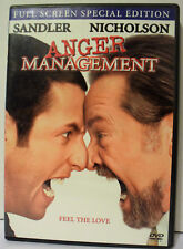 Anger Management (DVD, 2003, Full Frame Special Edition) Adam Sandler Jack Nicho
