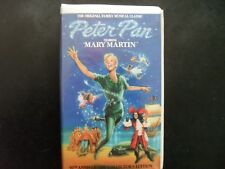 Peter pan Vhs mary martin