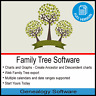 FAMILY TREE GENEALOGY SOFTWARE FOR WINDOWS + RESEARCH YOUR FAMILY HISTORY