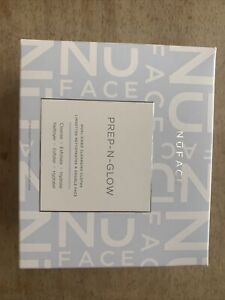 NuFACE Prep-N-Glow Dual-Sided Cleansing Cloths 20 Ind. Cloths Brand New Sealed