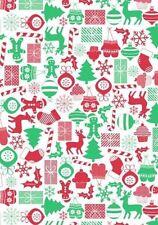 Christmas Theme Flannel Back Tablecloth - 132cm x 228cm