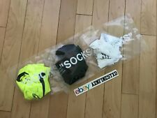NEW Nike Off White Virgil Abloh Off Campus Pop Up Socks Set Black White Neon