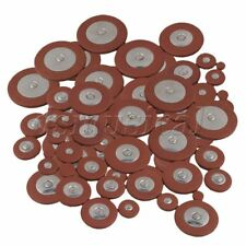 Woodwind Alto Saxophone Leather Pads Orange Pack of 125