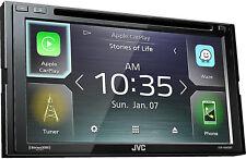 JVC KW-V840BT DVD/CD Touchscreen GPS/ Bluetooth / SiriusXM /Car Play Car Stereo