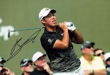 Byeong-Hun AN Signed 12x8 Korean Golf Photo 2 Autograph AFTAL COA BMW PGA Winner