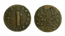 s328) ANCONA Prima Repubblica Romana (1798-1799) 2 Baiocchi A P