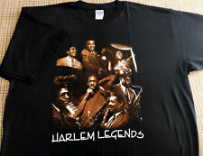 Vintage Jazz T-Shirt - Harlem Legends - JOHN COLTRANE - Art Blakey - CANNONBALL