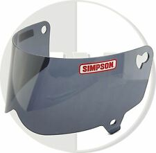 Simpson Helmet Black Visor for Outlaw UK Delivery Motorcycle Xl/xxl Size C