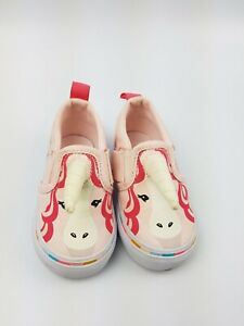Vans Asher Unicorn Slip-On Pink Infant Toddler Shoes Size 4.5