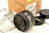 Near Mint in Box Nikon AF NIKKOR 28mm f/2.8 D Wide Angle Standard Lens Cap Japan