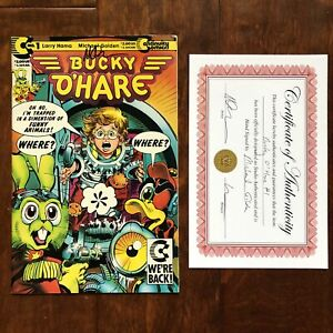 Bucky O'Hare #1 (1991) Continuity Comics Signed By Michael Golden With CoA