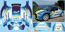 CITROEN DS3 WRC MIELE RALLY DELLA ELBA  DECALS 1/43 no model