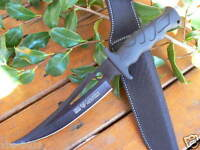"""12"""" Survival Military Bowie Camping Hunting Tactical Pig Sticker knife SJ28"""