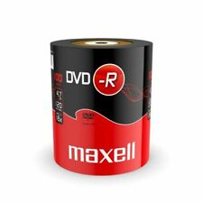 Maxell 16x 4.7GB DVD-R Disks with Box - Pack of 100