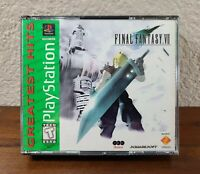 Final Fantasy VII 7 (Sony PlayStation, 1997) Complete - PS1 1