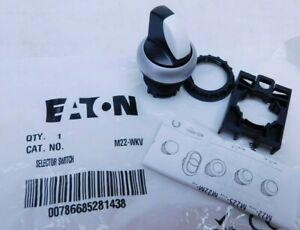 NEW! EATON M22-WKV Non-Illuminated Selector Switch Rotary Knob (VN)