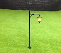 S046 - 10 Stück Straßenlampen 6,5cm mit LED 12-19V Parkleuchten Parklampen