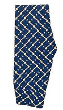 NEW LULAROE LEGGINGS OS BLUE & WHITE PRINT, GORGEOUS!