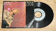 "SERGE GAINSBOURG live  sorry angel  bonnie and clyde 45t sp7"" 8844447 fr philips"