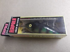 Hard to Find Rapala Wood Fat Rap,FR-7 P,Perch,Ireland Made