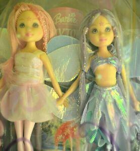Barbie Fairytopia Petal Pixies dolls fairies C7018 2004 NRFB NEW small dolls