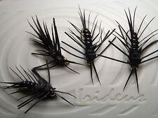 Irideus Custom Complex Commander Black Stonefly Trout fly Fishing Fly Steelhead