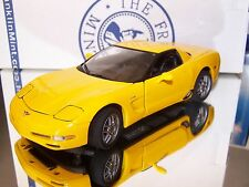 Franklin 2003 Corvette Z06 Hard Top 50th Anniversary Ltd # 123 of 9900 B11C474
